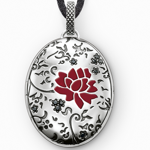 The Locket pendant, new to Thomas Sabo's Sterling Silver collection