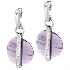Amethyst coloured earrings from Morellato