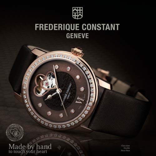 Frederique Constant Watch - Made by hand to touch your heart