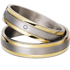 The new Gold in Steel ring from Rauschmayer