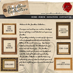The new Jewellers Collective homepage, another way young jewellers are working together