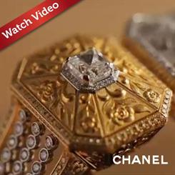 Watch a Chanel master jeweller bring the Soleil d'Automne ring to life.