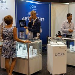 RJ Scanlan & Co launched its new Diva jewellery collection at the fair