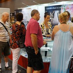 Coloured diamond suppliers such as Bolton Gems appeared particularly popular amongst visitors