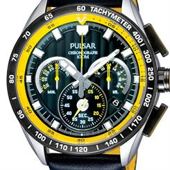 The bold new chronograph from Pulsar