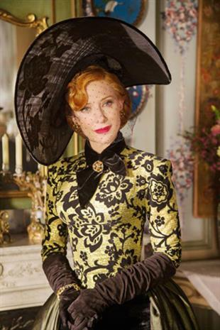 Cate Blanchett as Lady Tremaine, the wicked stepmother