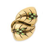 Leaf cuff, green
