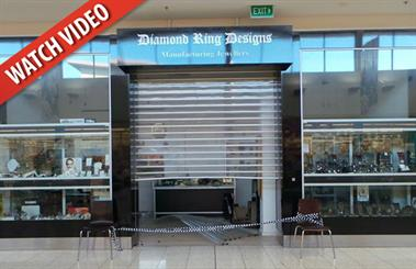 Cars were used to force entry into two jewellery stores. Source: ACT Policing