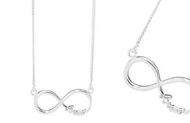 Stones & Silver's Forever necklace