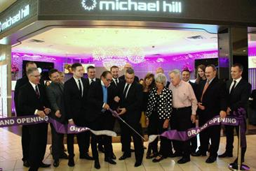 Michael Hill has opened a store in New York, one of the world's major fashion capitals