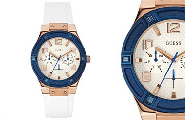 Guess Watches' Blue Print watch