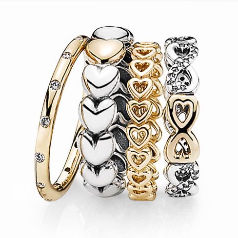 Australian sales for Pandora rings increased almost 60 per cent in the  first quarter