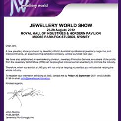 Jewellery World set for another attempt at rival Sydney trade fair