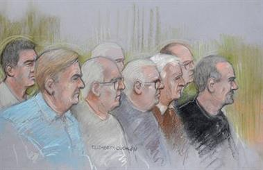 The alleged Hatton Garden jewellery thieves ranged in age from 42 to 76. Source: Elizabeth Cook