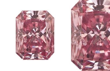 Lost River Diamonds' purplish pink diamond