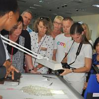 Nationwide members were able to observe various aspects of the diamond supply chain