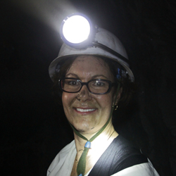Lisa Schultz gets dirty, deep inside the Tanzanite One mine