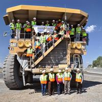 Participants were given the rare opportunity to visit the Jwaneng mine