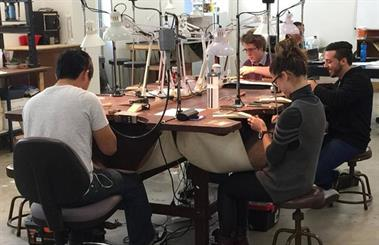 The Academy of Jewellery Manufacture and Design offers certified jewellery manufacturing courses