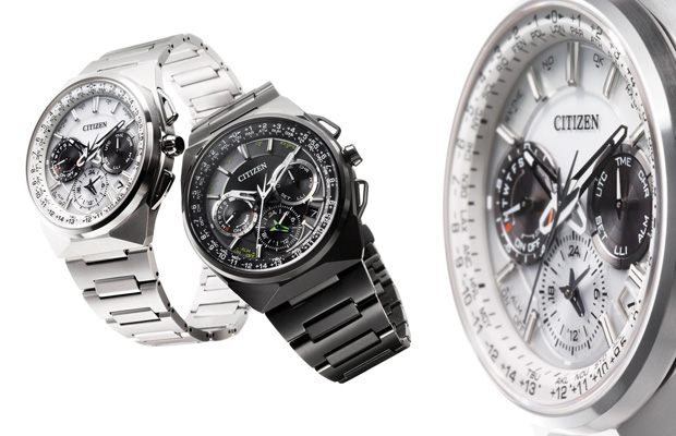 Citizen's Eco-Drive Satellite Wave F900 watch