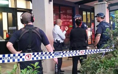 A retailer has suffered numerous stab wounds from a jewellery store attack. Source: ABC News, Kristina Harazim