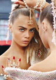 Cara Delevigne for Chanel