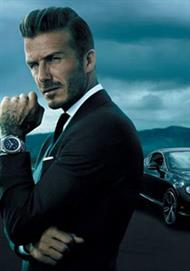 David Beckham for Breitling for Bentley.