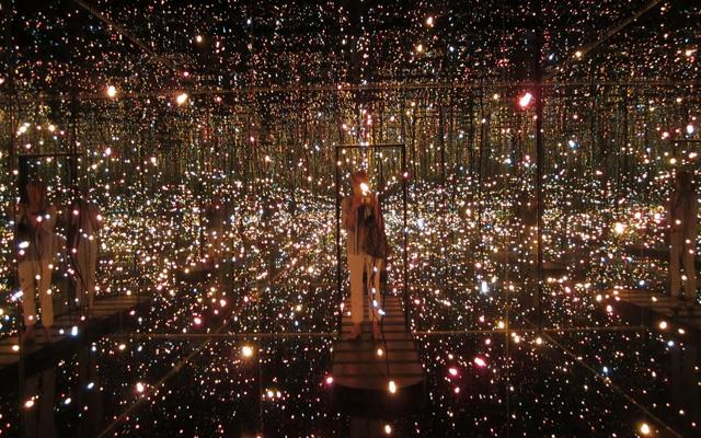 Fireflies on the Water by Yayoi Kusama