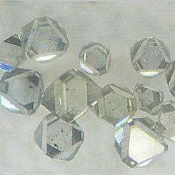 Diamond manufacturers are now able to produce natural-shaped synthetic stones. Source: Taidiam