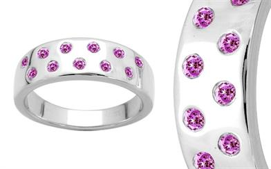 Elnice Fine Jewellery's pink sapphire ring