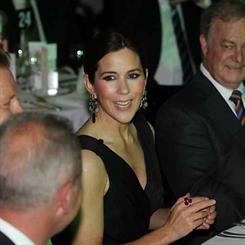 Crown Princess Mary in Sydney wearing Ole Lynggaard earrings. Click below for the full gallery.