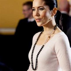Crown Princess Mary highlights more beautiful Danish jewellery