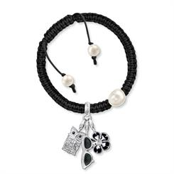 Nature-inspired charm bracelets from Thomas Sabo