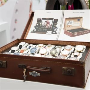 The Henry London watch range was launched at the fair