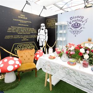 Disney Couture won the award for best small stand