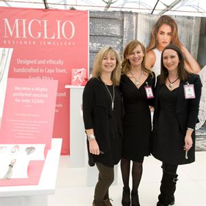 Miglio Designer Jewellery was a first-time exhibitor