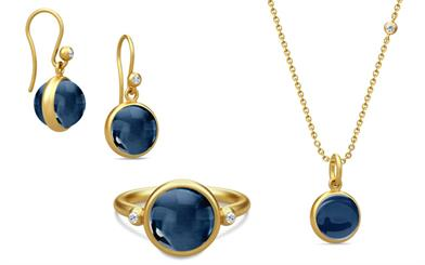 Julie Sandlau's Prime collection in sapphire blue