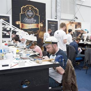JDMC competitors undertook their challenges on the fair floor