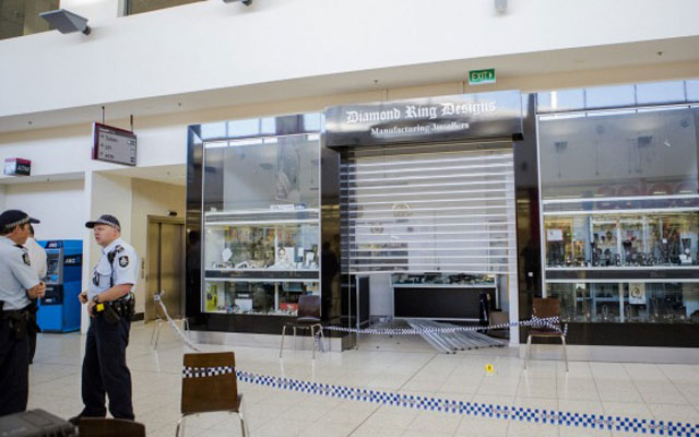 A man has been dealt a jail sentence for his involvement in two 'ram-raid' jewellery robberies. Source: Jamila Toderas
