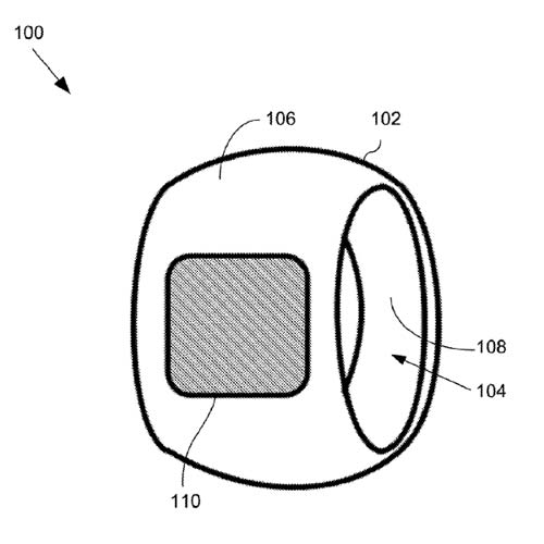 "Apple has lodged a patent application for a ""finger-ring-mounted touchscreen"""