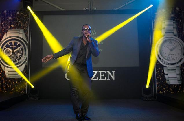 Singer-songwriter and dancer Tim Omaji