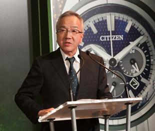 Toshio Tokura, Citizen Holdings president and CEO