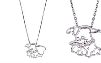 Disney Couture's Dumbo pendant