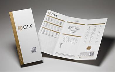 Police have two suspects in custody regarding the alteration of more than 1,000 GIA diamond grading reports