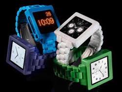 iPod Nano in watchband