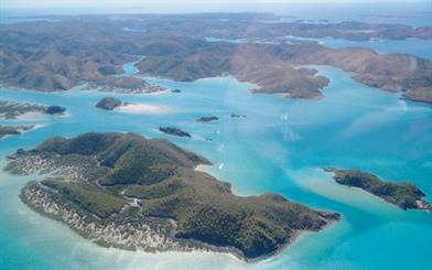 Talbot Bay, Western Australia. Location of a Paspaley pearl farm.