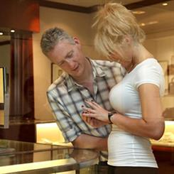 Sometimes getting on the same side as your customer enhances the sale