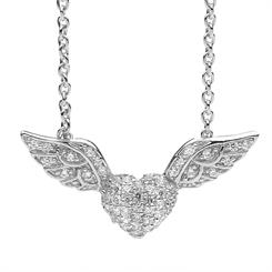 Wings with Love pendant