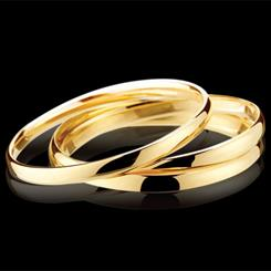 AGS Gold Bangles