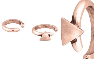 Miglio Designer Jewellery's Geometric Ear Cuffs